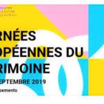 logo des journées du patrimoine 2019 amis patrimoine cazères